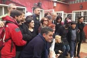 Il gruppo che ha organizzato la campagna pasto sospeso