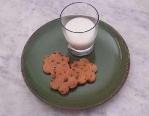 Biscotti di okara di mandorle
