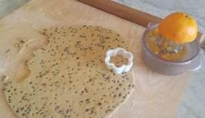 Okara di mandorle e succo d'arancia, gli ingredienti principali di questi biscotti