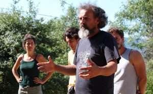 Alessandro Caddeo, al corso di Permacultra organizzato a Tertulia