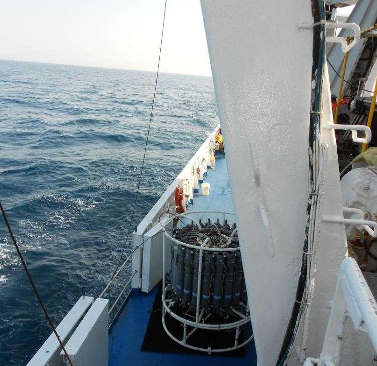 Sistemi di rilevamento temperatura del Mar Mediterraneo
