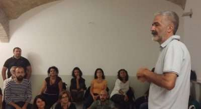 Fabio Pinzi all'incontro di presentazione di PURO