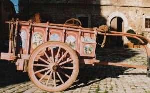 Carro agricolo in uso in Valdichiana