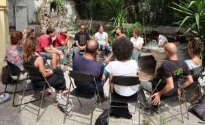 Momento delle presentazioni nella riunione del 7 settembre 2017 di PURO