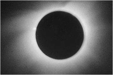 Foto dell'eclisse di sole del 15 febbraio 1961 in Italia